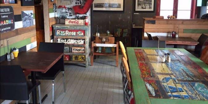 The Old Woodshop And Corner Cafe Menu
