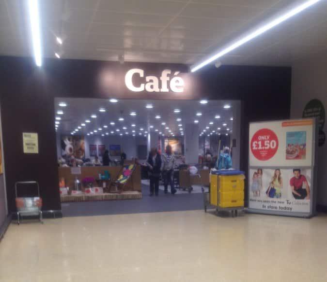 Sainsbury's Cafe, Newington, Edinburgh