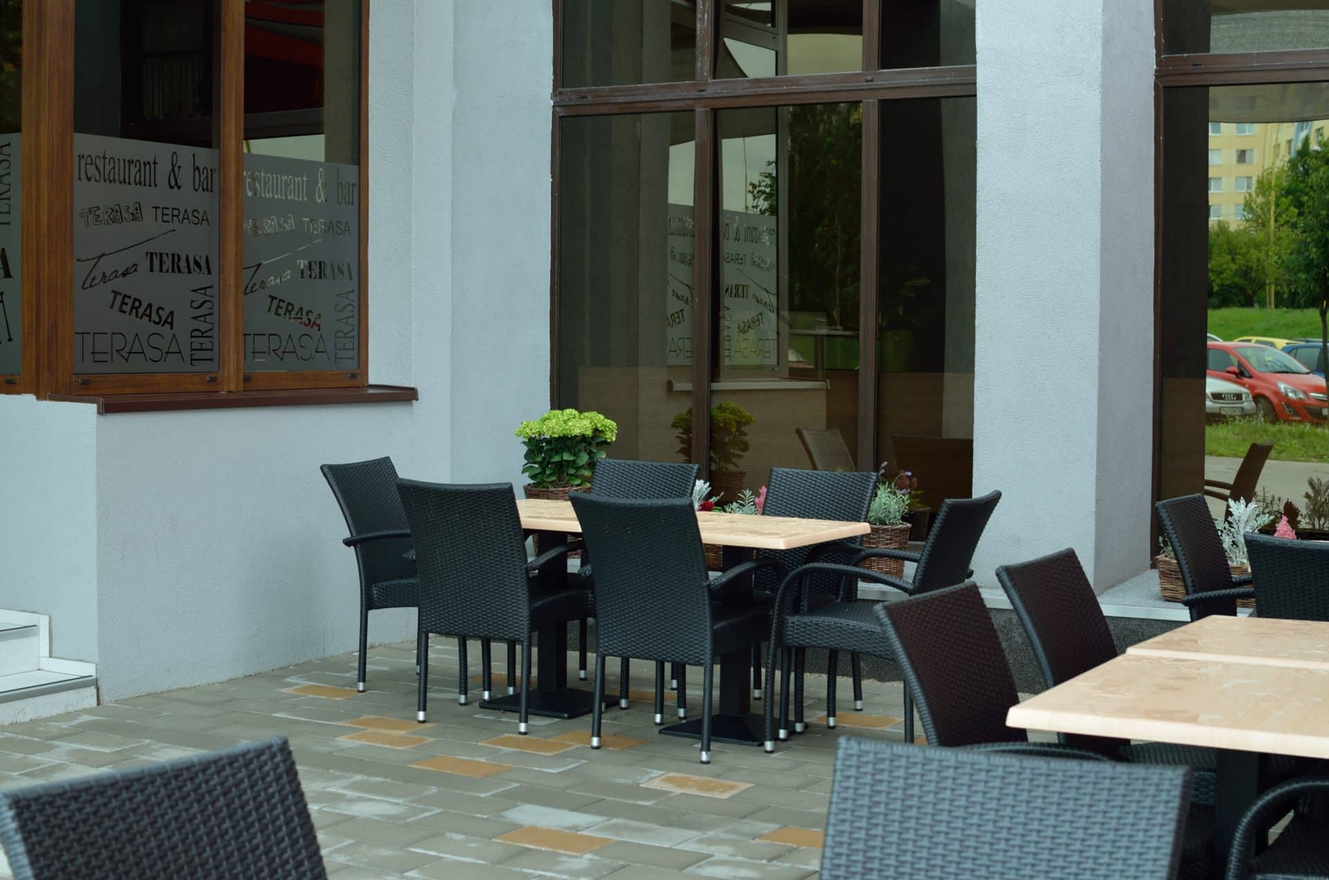 Spolocensky Pavilon Restaurant Bar Zapad Kosice Ii