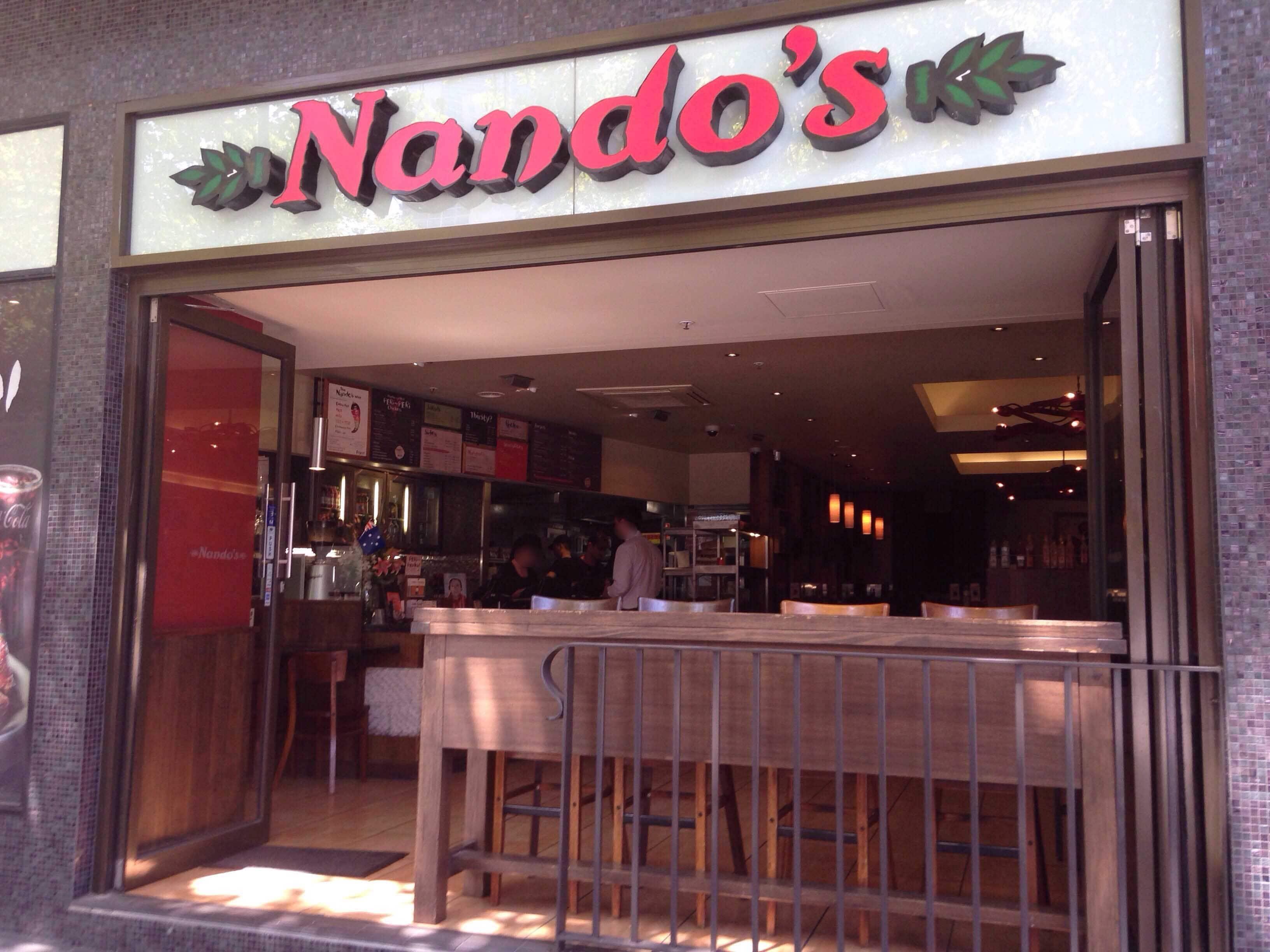 nandos bourke st