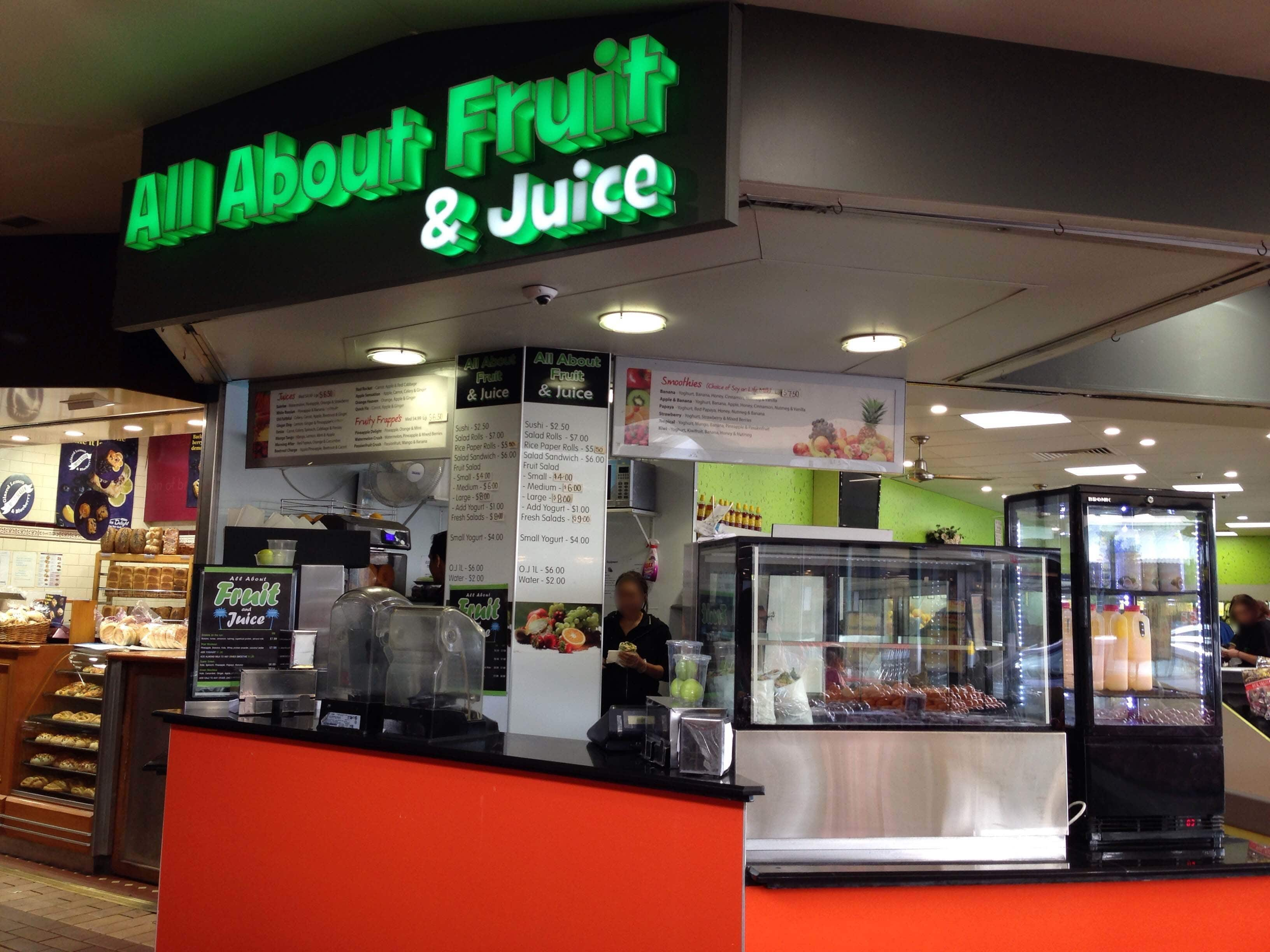 Na name all the fast food restaurants - All About Fruit Juice