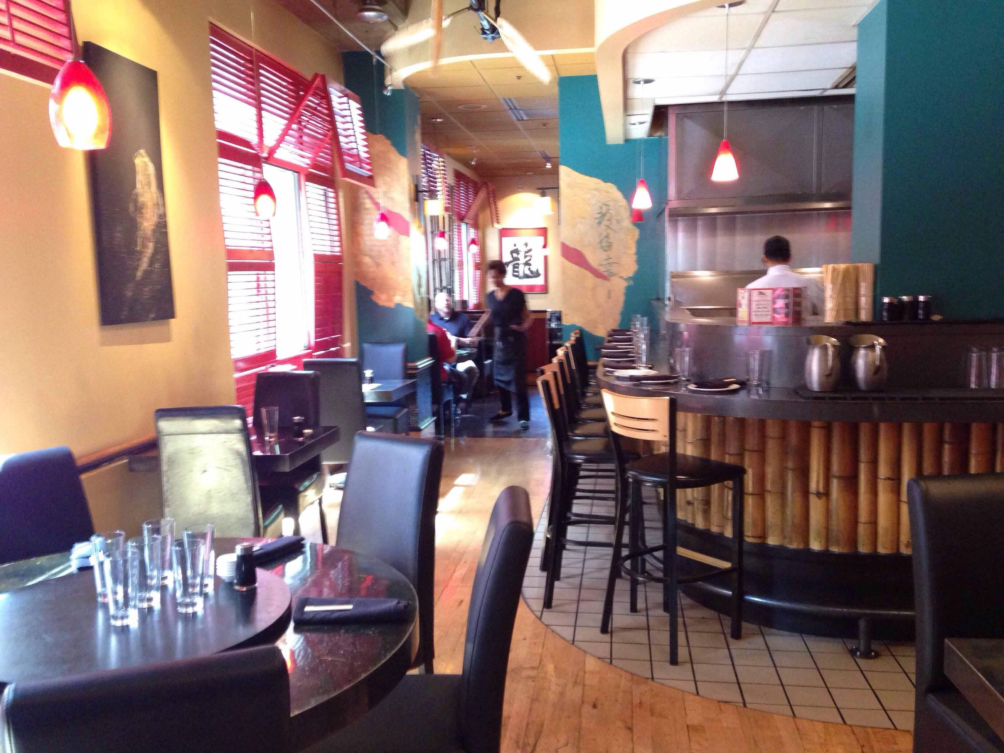 Asian cafe dragonfish
