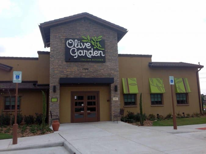 Olive Garden Upper Kirby Houston Urbanspoon Zomato