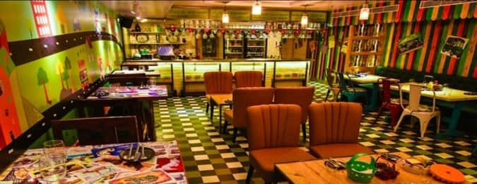 Cafe Hawkers Cp New Delhi Delhi