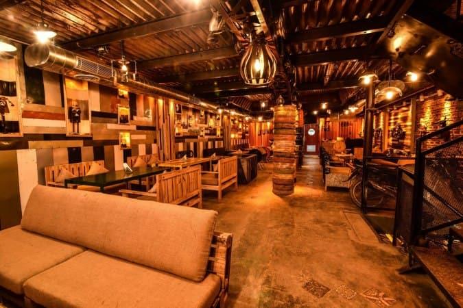 The Junkyard Café, Rajouri Garden, New Delhi | Zomato
