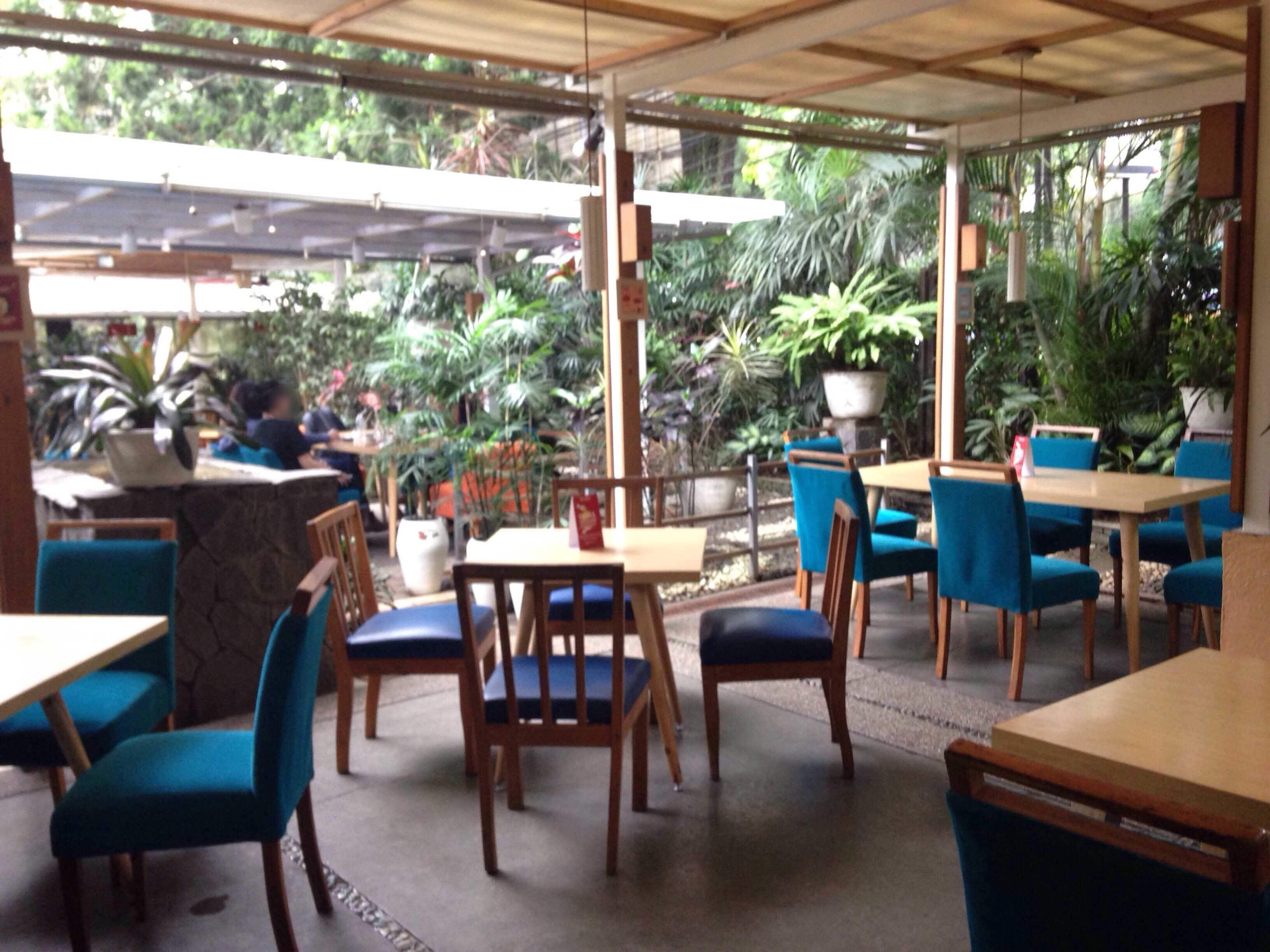 Cafe Halaman yang tampak mewah namun merupakan coffee shop murah Bandung terbaik