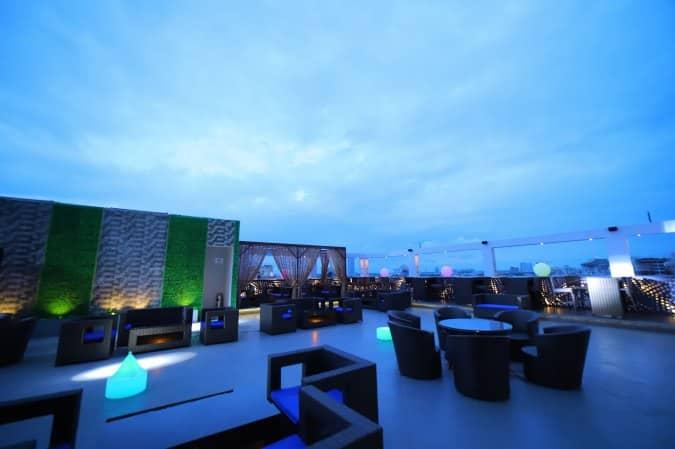 Glook The Sky Lounge New Town Kolkata Restaurant