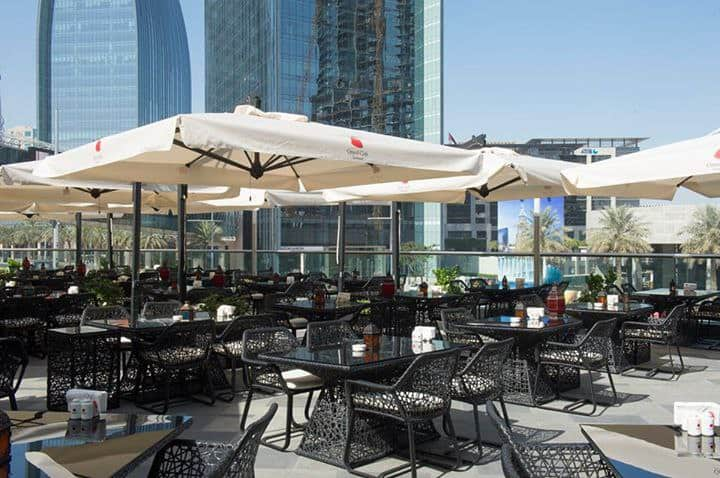 Grand Cafe Boulevard Downtown Dubai Dubai
