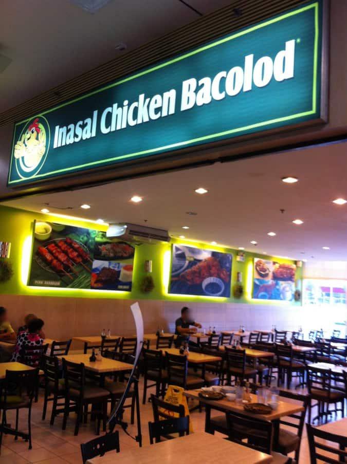 Inasal Chicken Bacolod Menu Menu For Inasal Chicken