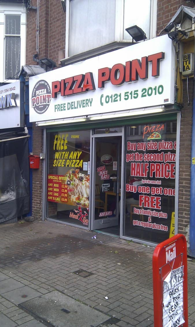 Pizza Point Handsworth Birmingham Zomato Uk