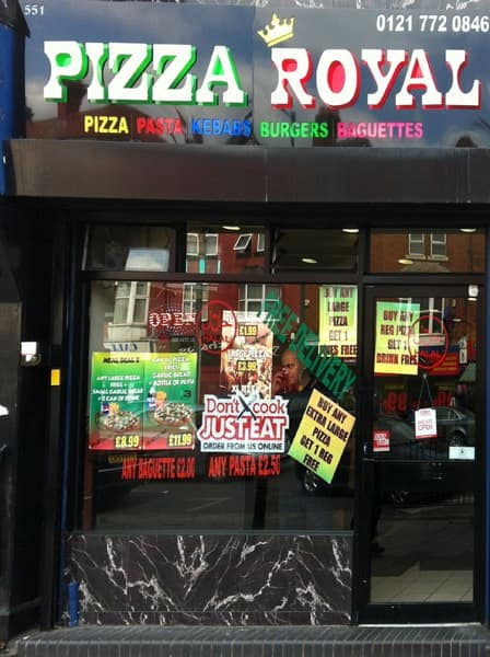 Pizza Royal Small Heath Birmingham Zomato Uk