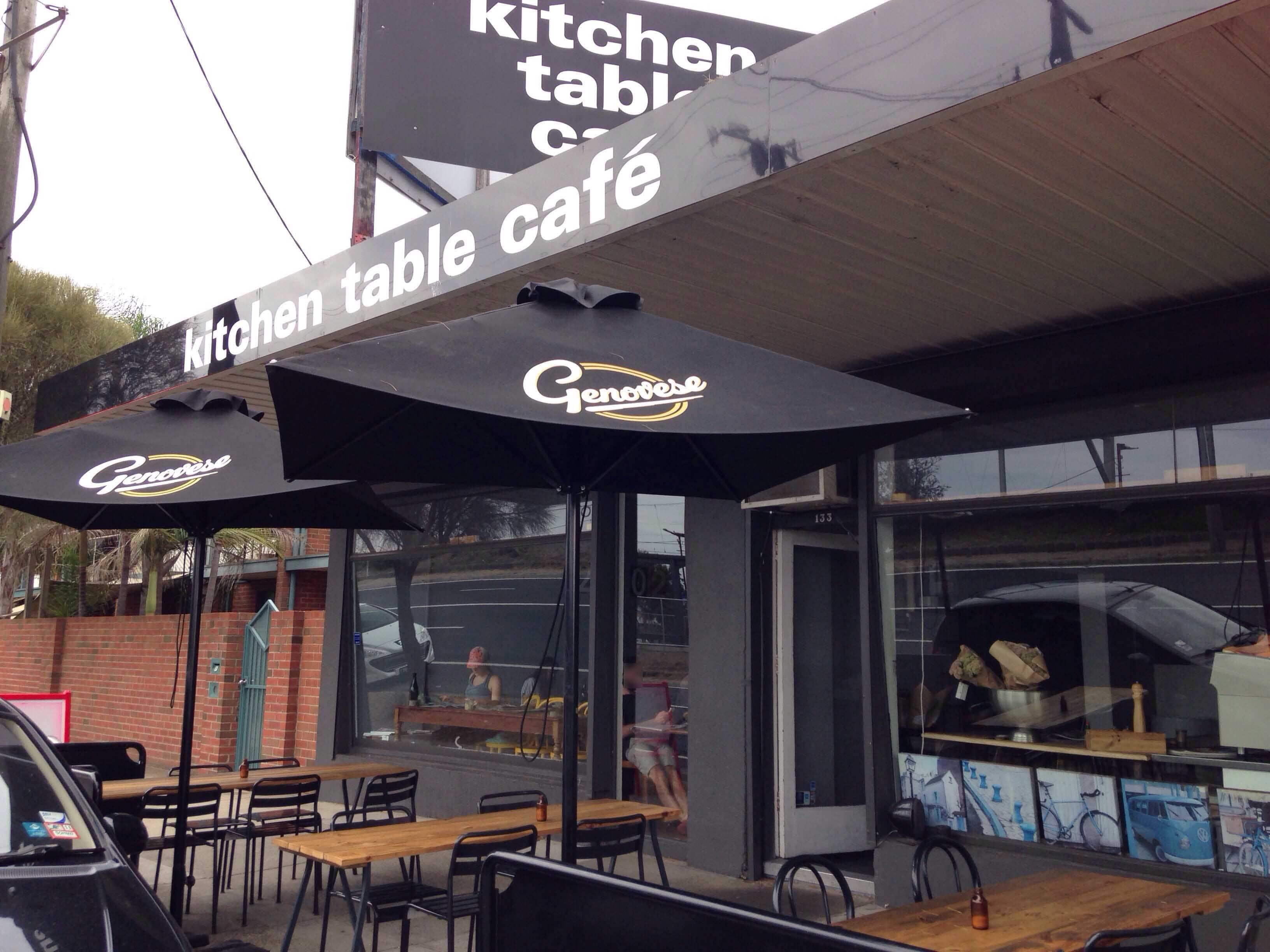 Kitchen Table Cafe, Aspendale, Melbourne