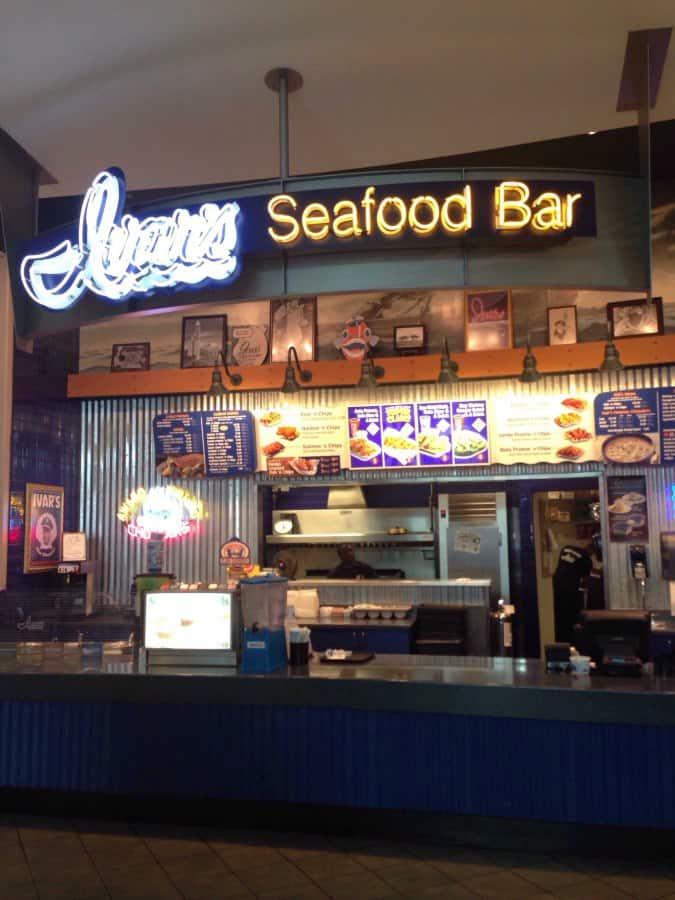 Ivar S Seafood Fast Food Restaurant Tacoma Wa