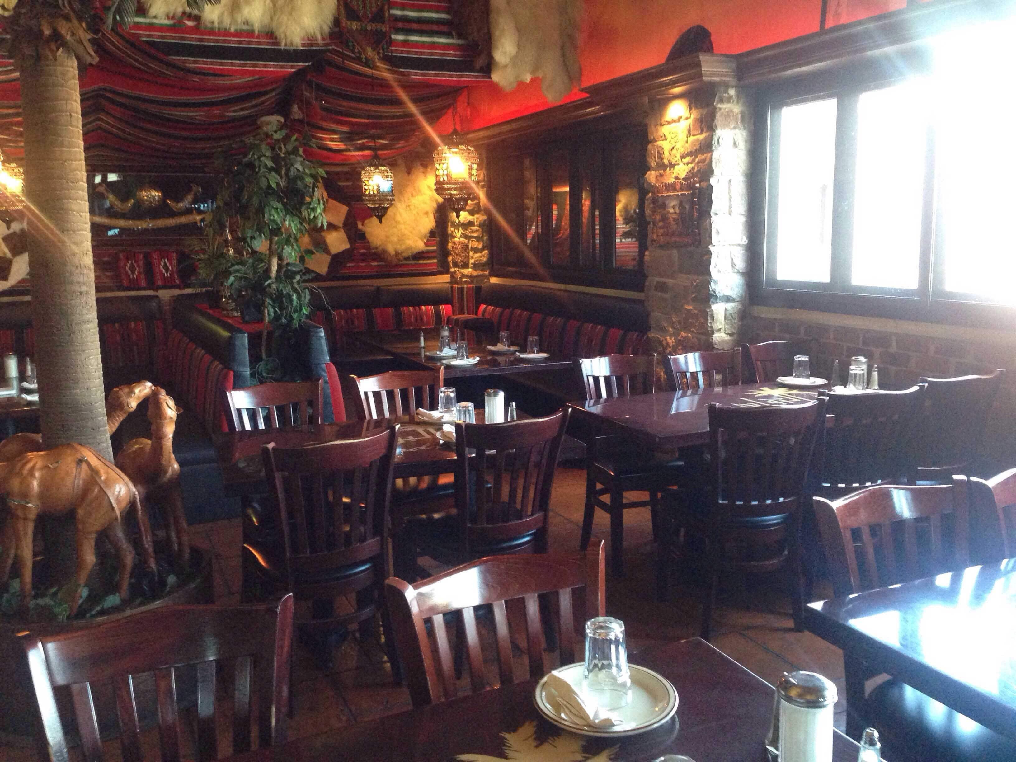 المطاعم العربية في شيكاغو سائح 7