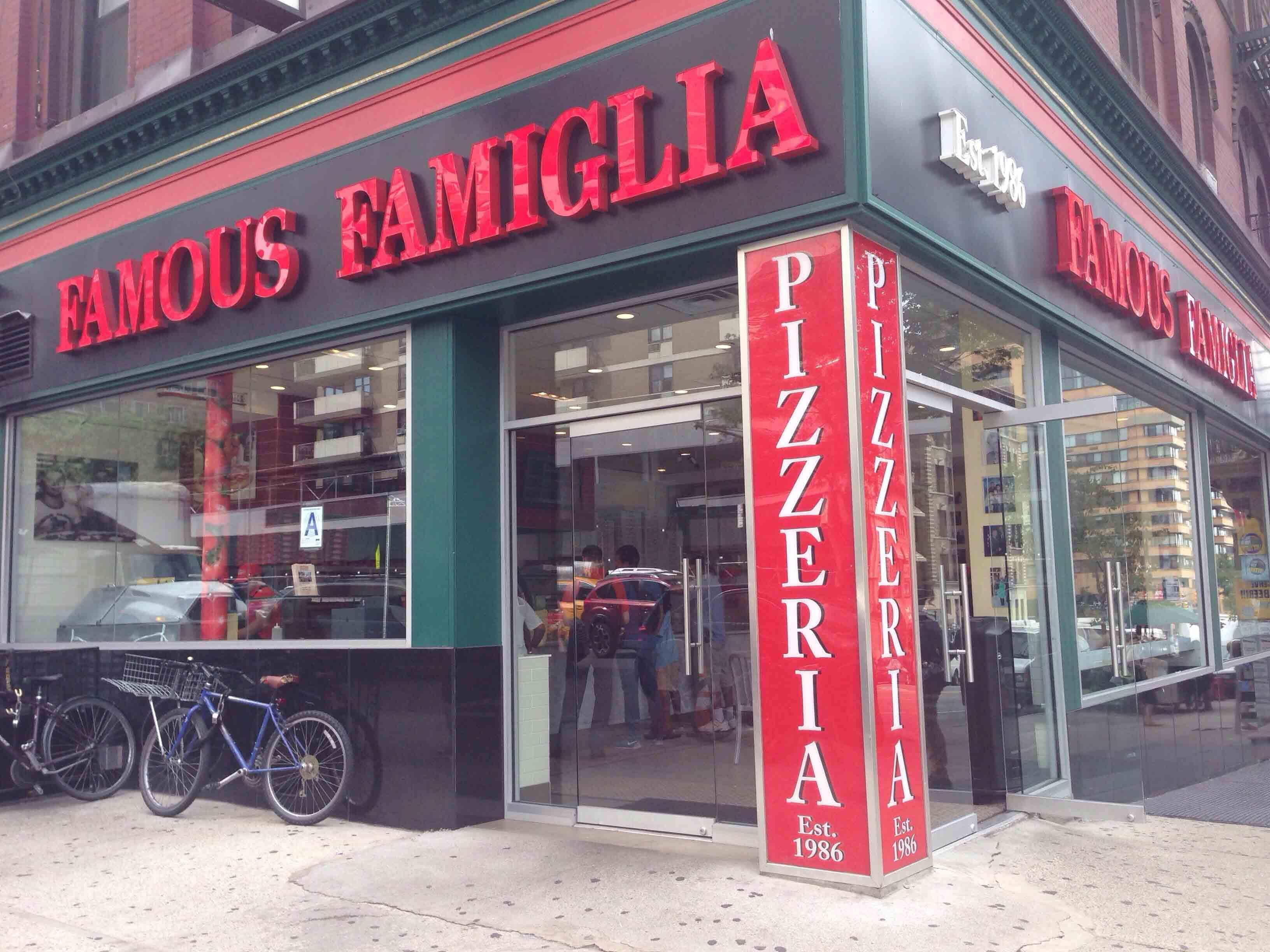 Famous Famiglia Pizzeria, New York, New York City