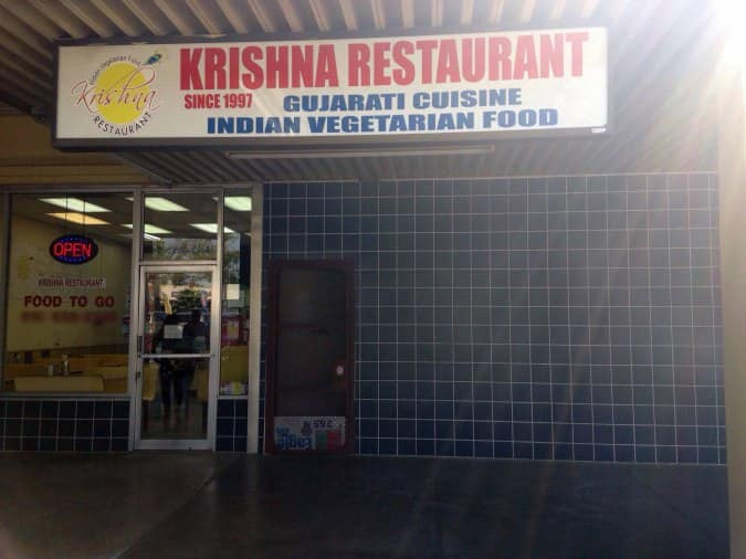 Krishna Restaurant Fremont Ca Menu