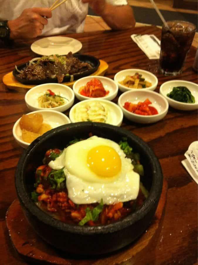 Stone Bowl Korean Restaurant Menu Atlanta