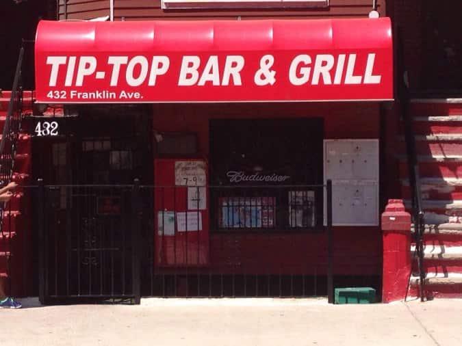 Address Of Tip Top Bar U0026 Grill, Brooklyn | Tip Top Bar U0026 Grill, Brooklyn,  New York City Location   Urbanspoon/Zomato