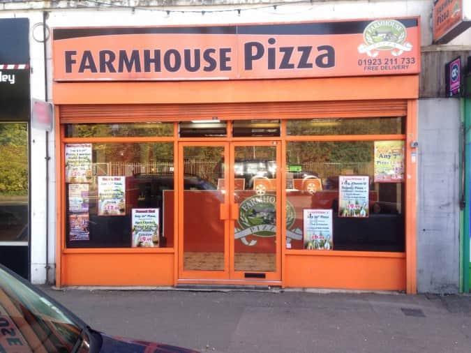 Farmhouse Pizza Watford London Zomato Uk