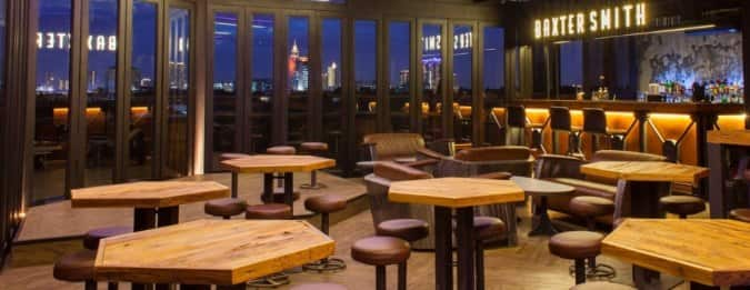 Baxtersmith dining lounge roofbar senopati jakarta for Dining room zomato jkt