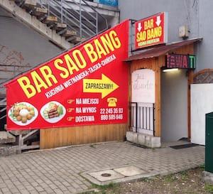 Sao Bang Menu Menu Restauracji Sao Bang Bemowo Warszawa