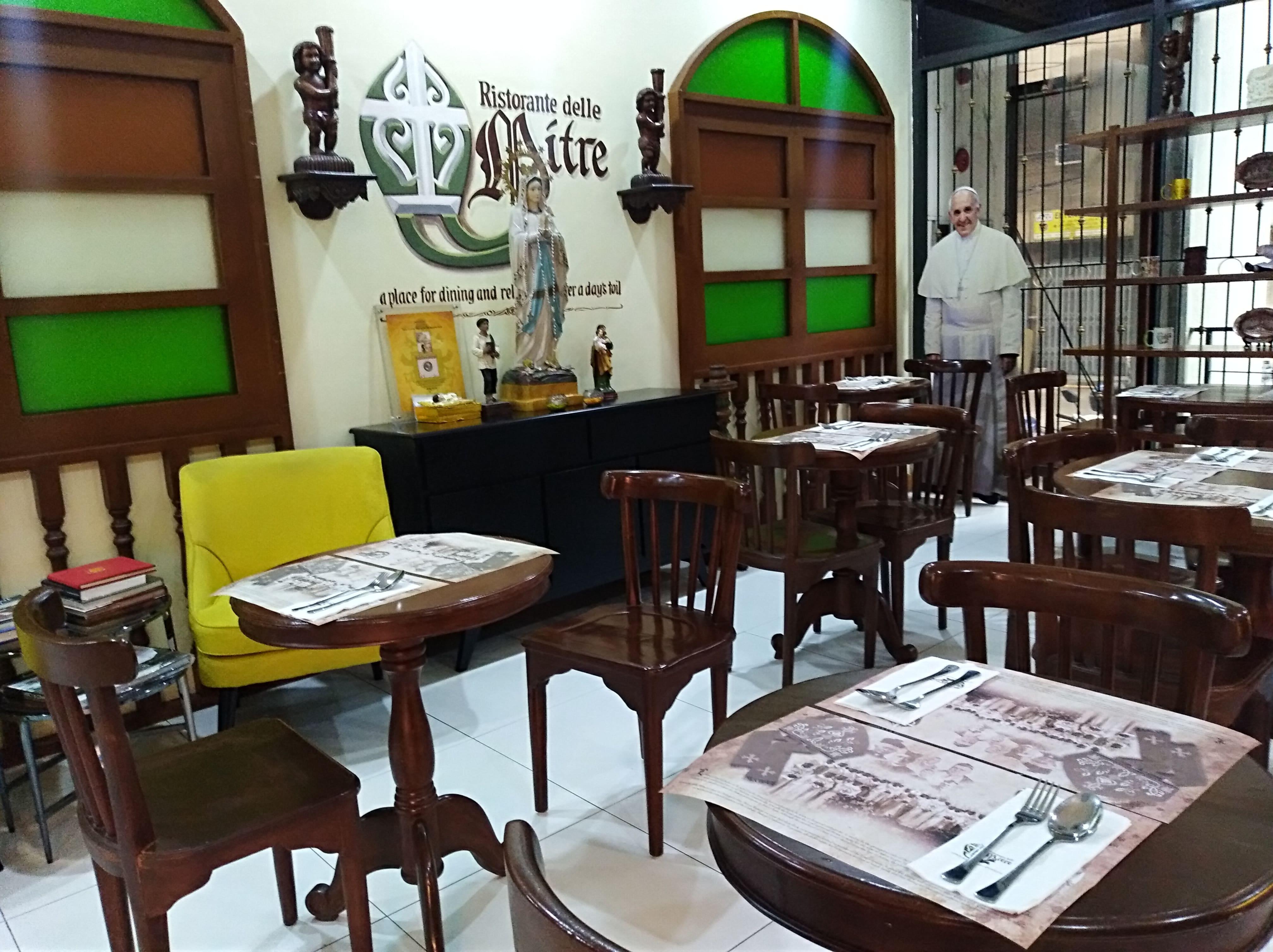 Ristorante delle Mitre Menu, Menu for Ristorante delle Mitre, Intramuros, Manila