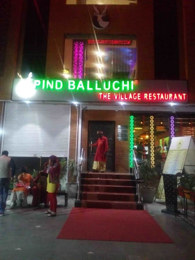 Pind Balluchi Civil Lines Allahabad Zomato