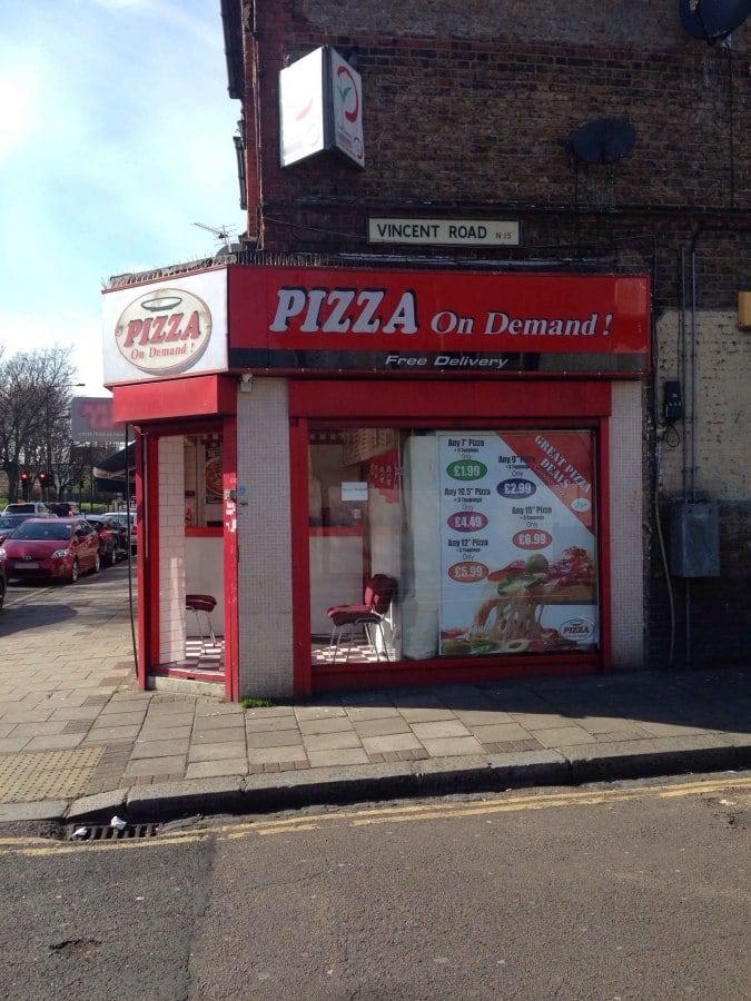 Pizza On Demand Tottenham London Zomato Uk
