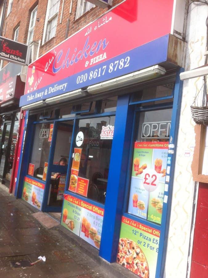 cha cha 39 s chicken pizza high street edgware london zomato uk. Black Bedroom Furniture Sets. Home Design Ideas