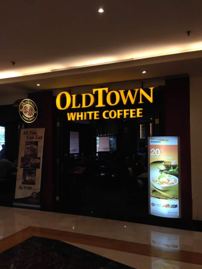 old town white coffee india Try some white coffee at persiaran bijeh timah at the old town order their famous pudding with caramel syrup, it's awesome try the famous lou wong nga choy gai (老黄芽菜鸡.