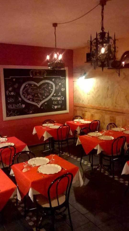 Trattoria re di roma a roma foto del menu con prezzi - Trattoria con giardino milano ...