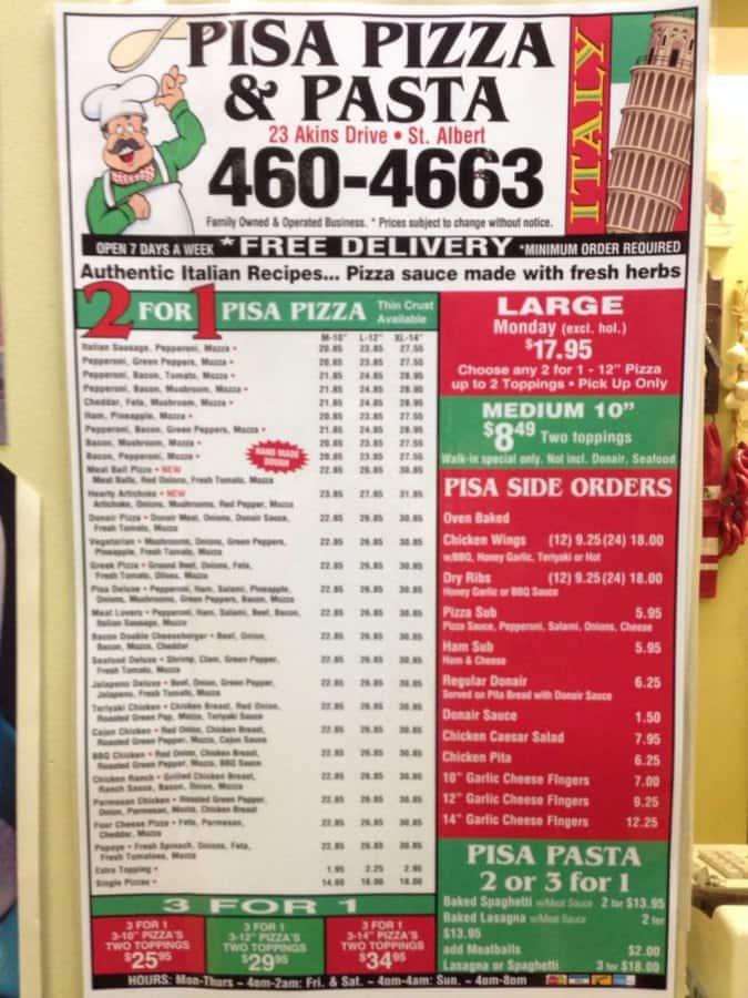 degrado pisa pizza - photo#14