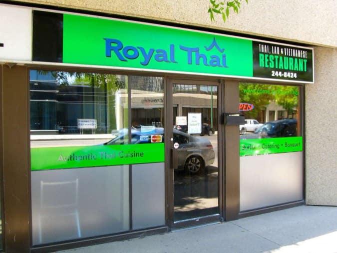 & Royal Thai Restaurant Downtown Saskatoon - Urbanspoon/Zomato