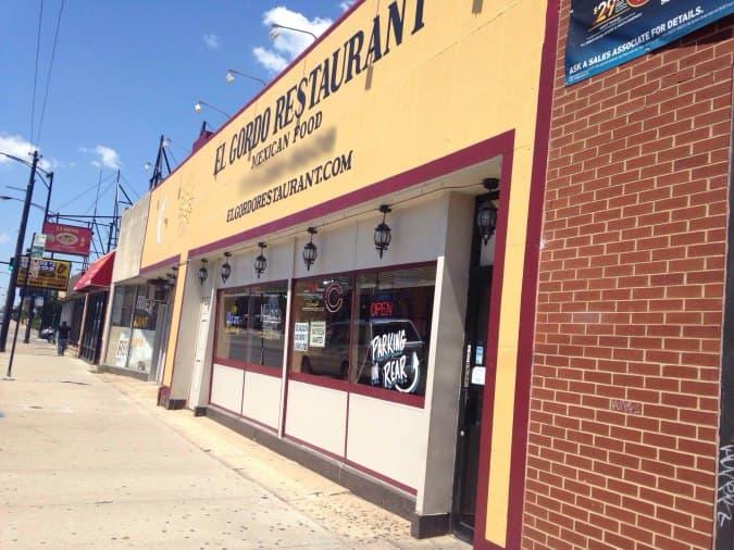 El Gordo Restaurant Chicago Menu