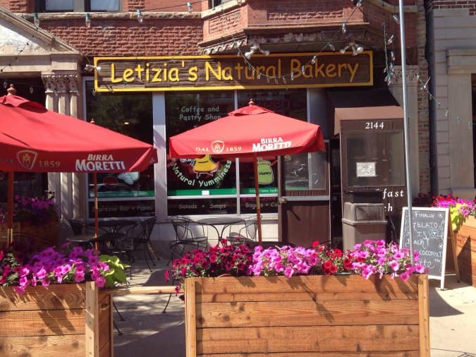 Letizia S Natural Bakery Chicago Menu