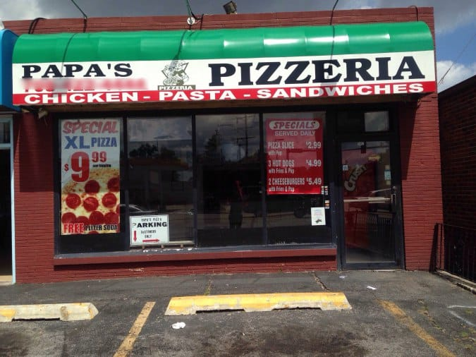 Papa pizzeria 2 : Anaheim resort rv park