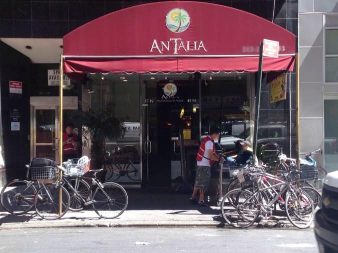 Antalia Restaurant Nyc