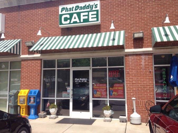 Phat Daddy S Cafe Menu