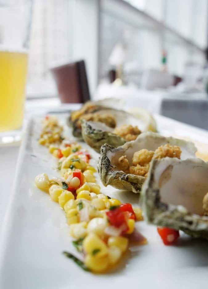 Providence Oyster Bar Food Menu