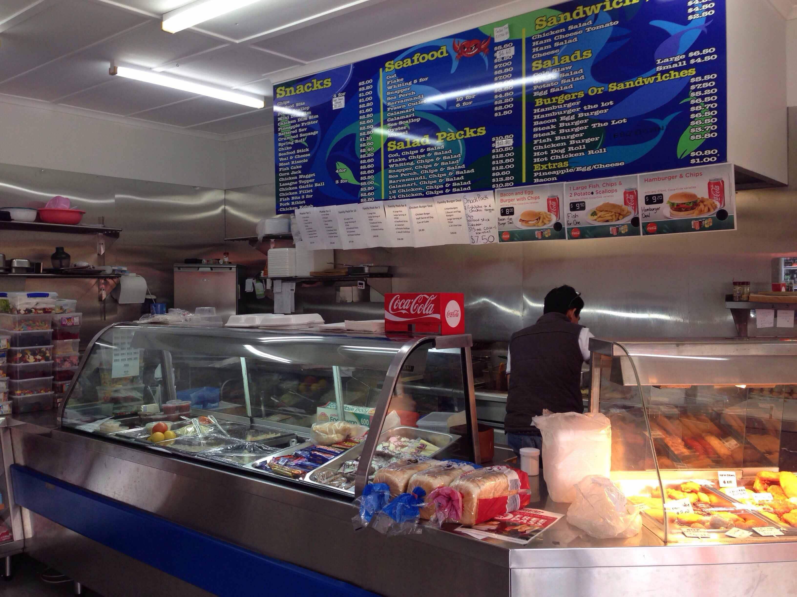 Churchill Takeaway Fish & Chips   264 Warwick Road, Churchill, Queensland 4305   +61 7 3282 8352