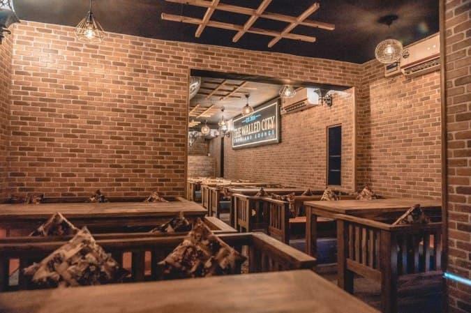 the walled city café lounge satyaniketan new delhi zomato