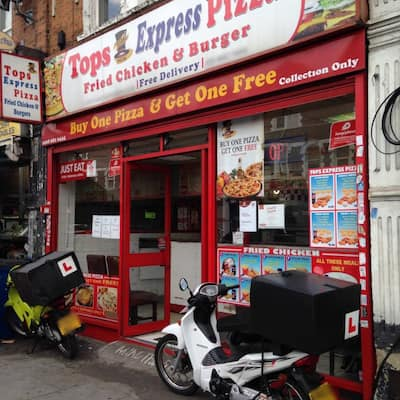 Tops Express Pizza High Street Tooting London Zomato Uk