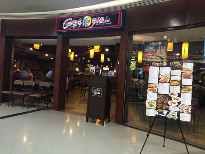 Gerry's Grill, Marikina