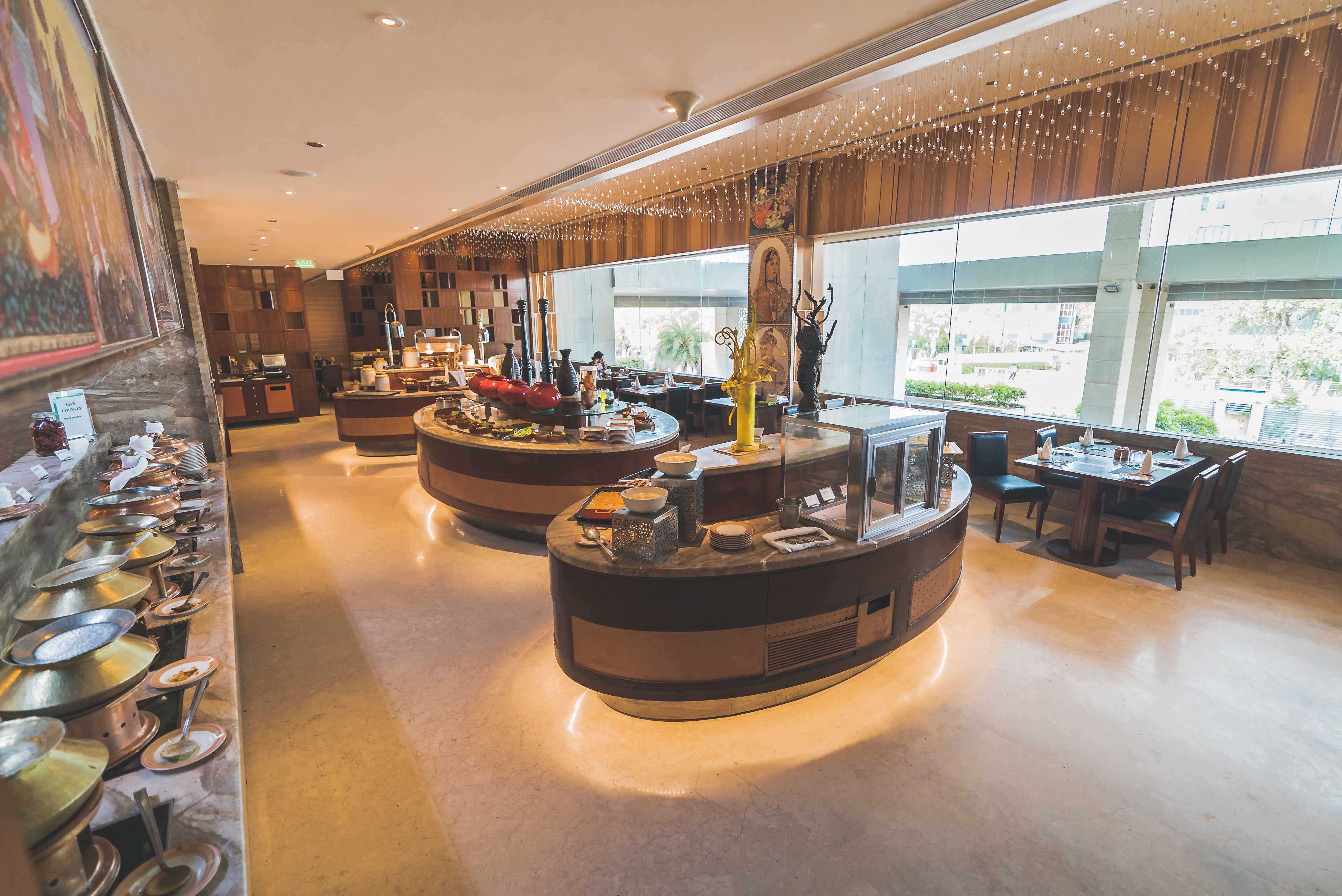 Monarch Restaurant - Holiday Inn Jaipur City Centre, Bais Godam, Jaipur