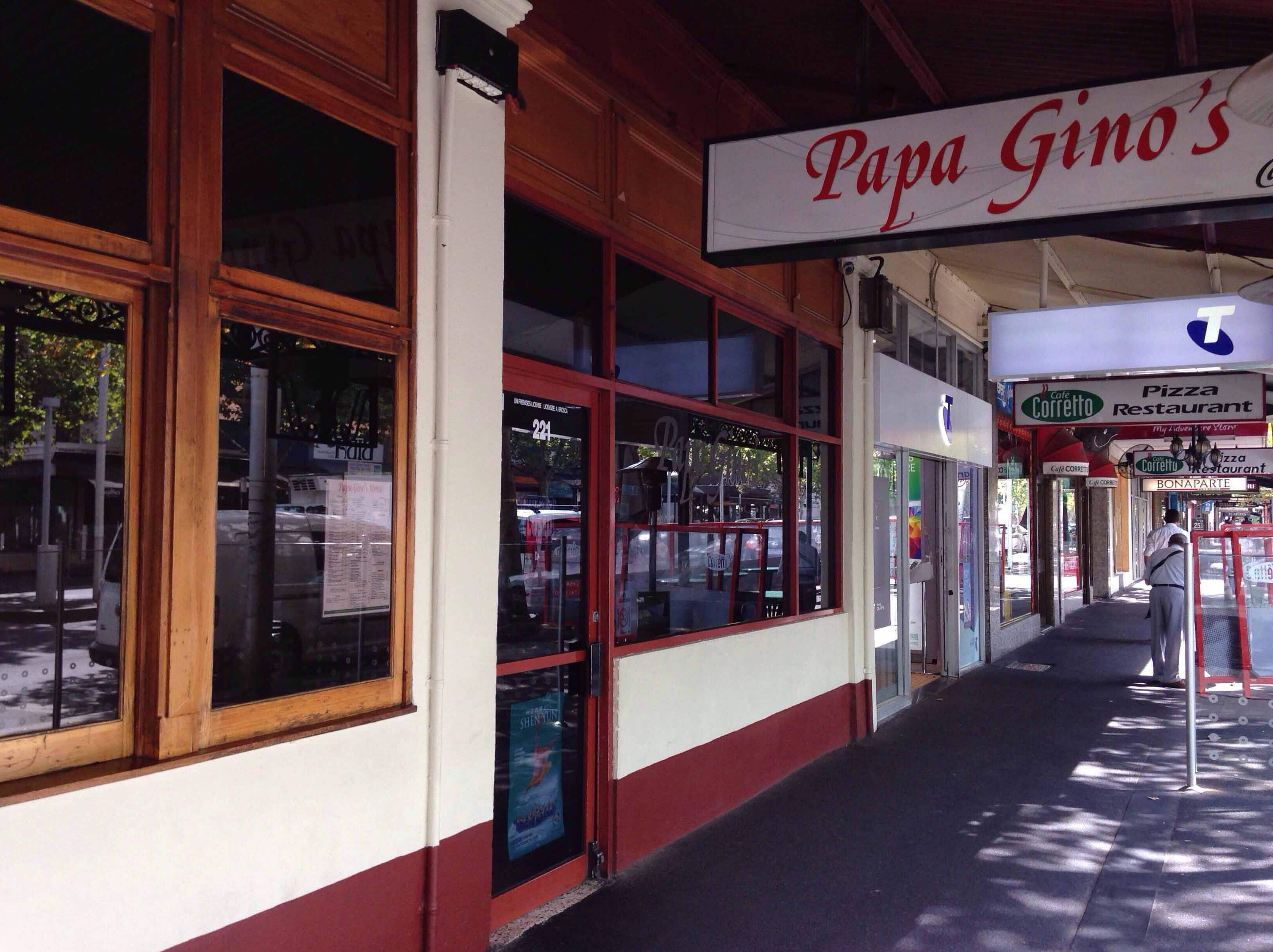 Papa Gino S Carlton Melbourne Return to papa gino's page. papa gino s carlton melbourne