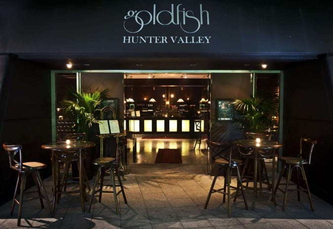 GOLDFISH, RESTAURANT & COCKTAIL BAR, HUNTER VALLEY | Broke Road, Pokolbin, New South Wales 2320 | +61 2 4998 7688