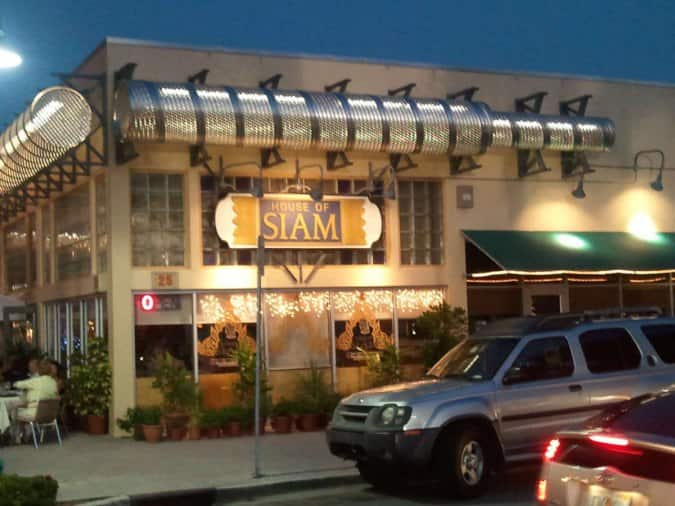 House Of Siam Delray Beach Menu