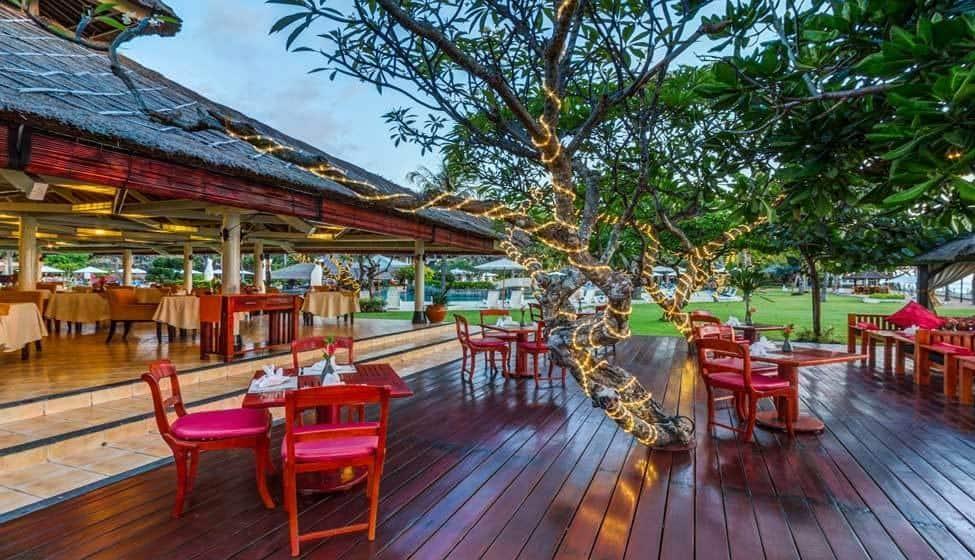 Tepan Noodle Restaurant Discovery Kartika Plaza Hotel Kuta Bali