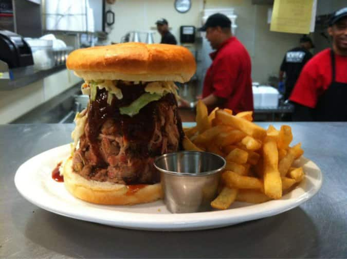 You may want to see this photo of memphis barbecue company