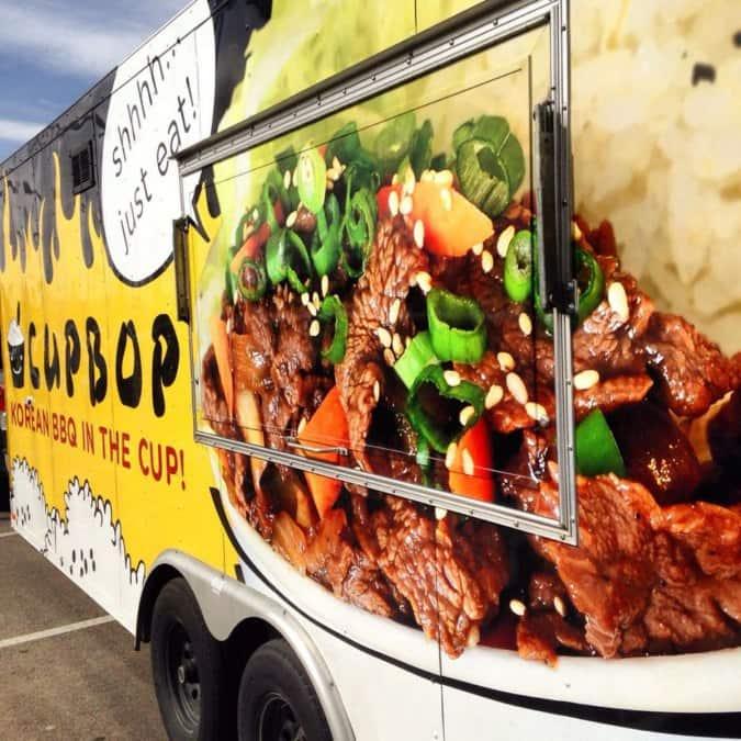 Cupbop Food Truck Locations